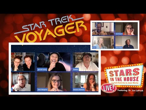 Star Trek Voyager Reunion | Stars In The House, Tuesday, 5/26 at 8PM ET