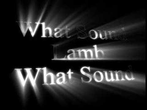 Tekst piosenki Lamb - What Sound po polsku