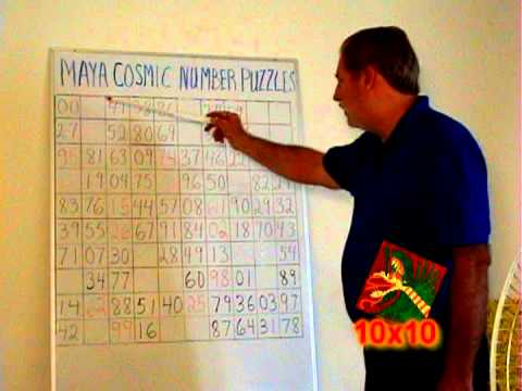 Video of MAYA COSMIC NUMBER PUZZLES 905