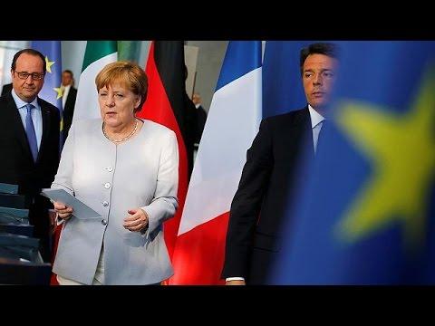 Ιταλία: Επανεκκίνηση της Ε.Ε. πάνω σ' ένα αεροπλανοφόρο!