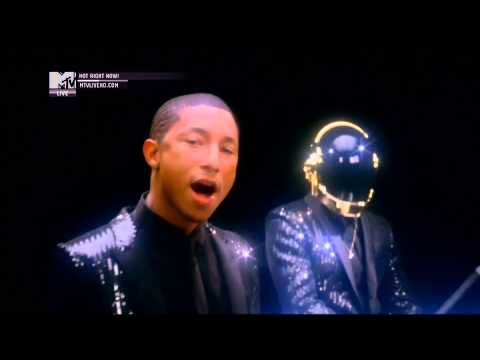 Daft Punk ft. Pharrell Williams – Get Lucky (Official MTV Video)