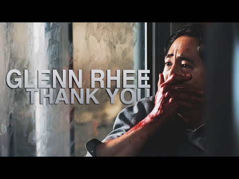 tributo a glenn rhee - the walking dead