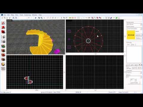 Portugal 3D - Tutorial - Hammer Source SDK - Escadas em Caracol e Arcos