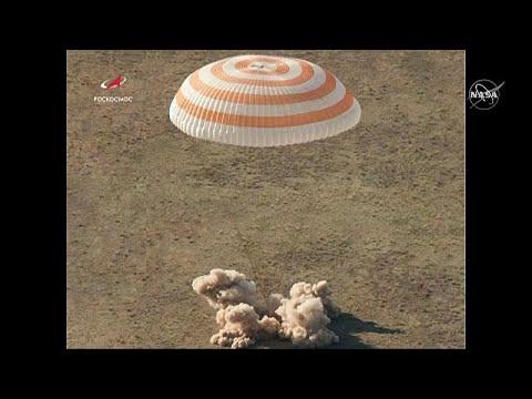 Ασφαλής επιστροφή του Σογιούζ από τον Διεθνή Διαστημικό Σταθμό…