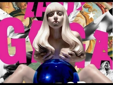 "LADY GAGA ""ARTPOP"" OFFICIAL ALBUM COVER REVEALED BY JEFF KOONS!"