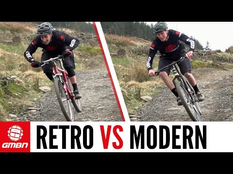 Retro Vs Modern – The Cross Country Mountain Bike Race (видео)