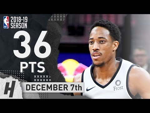 DeMar DeRozan Full Highlights Spurs vs Lakers 2018.12.07 - 36 Pts, 9 Ast, 8 Rebounds!