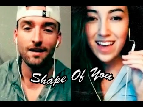 Ed Sheeran - Shape Of You (Cover by Mike Scott Ft. Mariah Belgrod) via Smule + Lyrics