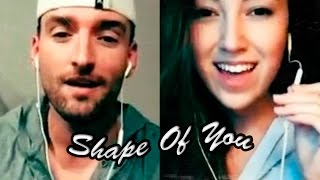 Video Ed Sheeran - Shape Of You (Cover by Mike Scott Ft. Mariah Belgrod) via Smule + Lyrics MP3, 3GP, MP4, WEBM, AVI, FLV September 2018