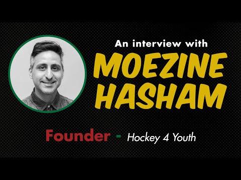 Interview with Hockey4Youth Founder Moezine Hasham