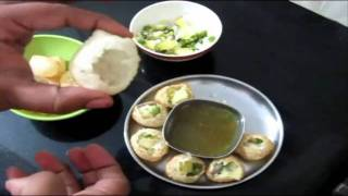 Pani Puri Recipe in Tamil