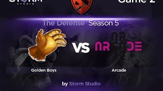 Golden Boys vs Arcade, game 2