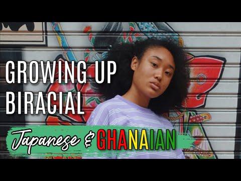 BEING BIRACIAL JAPANESE GHANAIAN   Living in Ghana & Japan