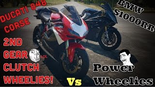 7. Ducati 848 2nd Gear Clutch Wheelies