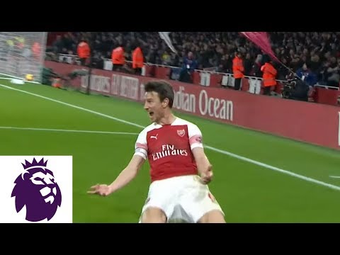 Video: Laurent Koscielny scores off his shoulder for Arsenal against Chelsea | Premier League | NBC Sports
