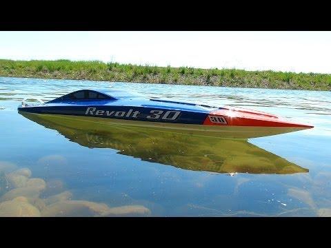 RC ADVENTURES - AquaCraft Revolt 30 Brushless FE Mono Boat - Radio Controlled
