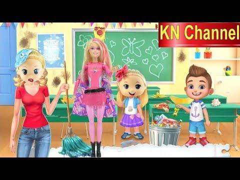 BÚP BÊ KN Channel ĐI HỌC P2 BACK TO SCHOOL | BÀI TẬP HÓC BÚA - Thời lượng: 11:24.