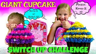 Magic Box Toys Collector presents: World's Largest Cupcake Challenge - Giant Cupcake Switch Up Challenge. Today we will be decorating our giant cupcakes with two types of ingredients: in one lunch box will be a good one and in the other bad. We will be playing a keep it or switch it game and trying to trick the other person. Who do you think will end up with the worst cupcake ever? Please post your comments in the comment section! Thank you : ) Thank you again for visiting and please don't forget to share this video with your friends and family : )SUBSCRIBE BUTTON:http://www.youtube.com/c/MagicBoxToysCollectorSurpriseToysSurpriseEggsPlayDohOrbeezHere are our other videos:SHOPKINS SURPRISE EGGS Shopkins Season 4 Sweet Spot Gumball Machinehttps://youtu.be/8zMECGvTPbYBIGGEST SURPRISE EGG Ever! Surprise Toys Eggs Shopkins My Little Pony Doc McStuffins Palace Petshttps://youtu.be/FNLljRlyyvoSURPRISE TOYS GIANT BALLOON POP GIVEAWAY WINNERS ANNOUNCEMENThttps://youtu.be/f02dWmqYwnkBABY ALIVE Snackin' Lily Baby Doll Eats Play-Doh Baby Alive Doll Picnic Brushy Brushy Baby Dollhttps://youtu.be/uxG9NP66IZEDOC McSTUFFINS Pet Vet New Toys Make Me Better Playset Hallie Gets a Color Changing Casthttps://youtu.be/qZ187FqMQWMSHOPKINS SEASON 4 12-Pack Shopkins Season 4 5-Pack Shopkins Season 4 Blind Basketshttps://youtu.be/tIGh0q2fCnkSOFIA THE FIRST Royal Family New Outfits SOFIA THE FIRST Royal Carriage * Carrosse Royalhttps://youtu.be/p9g67lam550MY LIFE AS a School Girl Doll * My Life as a Pop Star Play Set and Accesorieshttps://youtu.be/vPmz1Qfk5QILalaloopsy Girls Candle Slice O'Cake Frosting Dough Decorating Craft Doll * Style'N'Swap Dollhttps://youtu.be/HJTSlOpV6q4BABY ALIVE Better Now Baby Doll Goes to the Doctorhttps://youtu.be/__Bqnt72rU8MY LITTLE PONY POP FLUTTERSHY COTTAGE  My Little Pony RARITY DRESS SHOPhttps://youtu.be/BU3mhXRd0GESOFIA THE FIRST SURPRISE BACKPACK Sofia the First Shopkins My Little Pony Frozen Palace Petshttps://youtu.be/ZYytCIL9b4kBARBIE ORBEEZ SPA SALON 