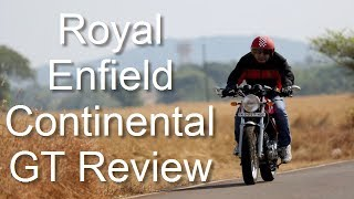 8. Royal Enfield Continental GT Cafe Racer Review And Test Ride By Car Blog India