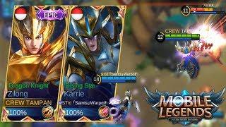 Video MAIN BARENG TOP GLOBAL 1 「Saints」Warpαth - Mobile Legends Indonesia MP3, 3GP, MP4, WEBM, AVI, FLV Oktober 2017