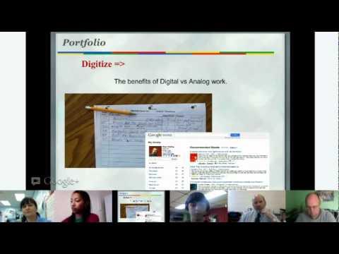 EduOnAir: Kern Kelley, 'Verwalten von digitalen Portfolios ' Google+ Hangout