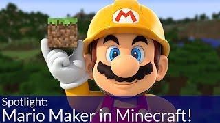 Mario Maker in Minecraft!