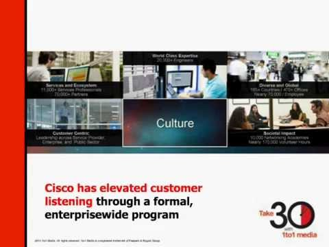Cisco Takes Customer Listening Seriously