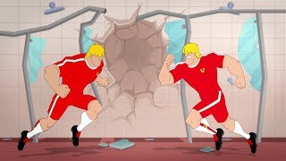 Toni Vern devises an ingenious way to ruin Blok's perfect disciplinary record; replace him with a robotic double! Soon, the real Blok is in a scrapyard, and the robot Blok is in Supa Strikas' starting 11! Can Blok escape before Roblok injures everyone, ruins his reputation and doubles the Strikaland electricity bill?!