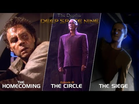 The Depths of DS9 S2 #1-3 (The Homecoming/The Circle/The Siege)