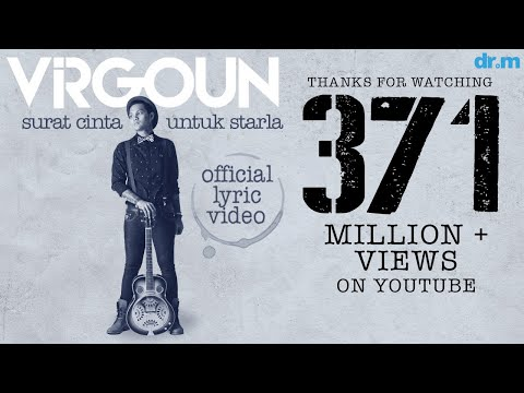 gratis download video - Virgoun--Surat-Cinta-Untuk-Starla-Official-Lyric-Video