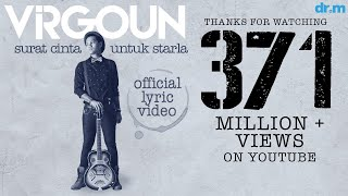 Video Virgoun - Surat Cinta Untuk Starla (Official Lyric Video) MP3, 3GP, MP4, WEBM, AVI, FLV Desember 2018