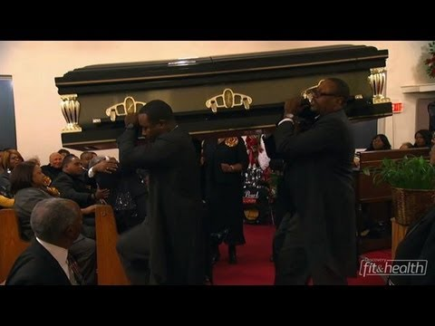 funeral - The Harris family handles a military funeral for the Clayton family. Anxiety is high as the Harris men prepare yet another