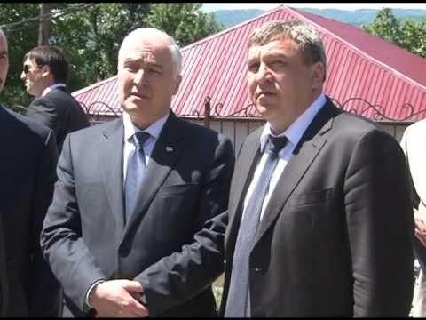 Рабочий визит Министра регионального развития Российской Федерации Игоря Слюняева в Республику Южная Осетия