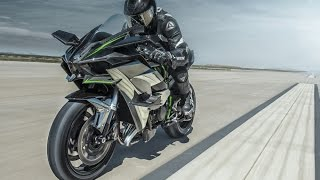 300 koni, turbo, design jak z kosmosu czyli Kawasaki Ninja H2R w akcji!
