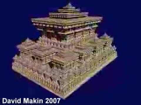 3D IFS Fractal : Sierpinski Temple