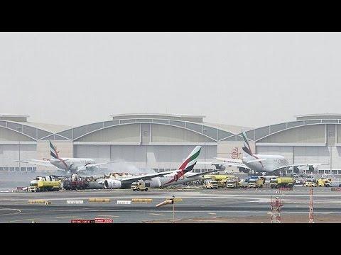 Νεκρός πυροσβέστης στο αεροδρόμιο του Ντουμπάι