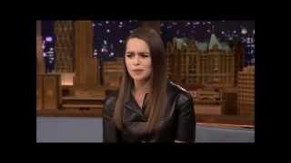 Actress on Game of Thrones as Daenerys Targaryen.