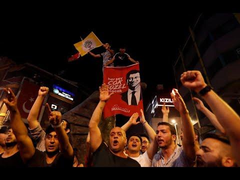 Türkei: Erdogans AKP verliert Istanbul bei historisch ...