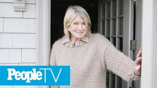 Martha Stewart Gives A Tour Of Her Dream Kitchen In Her Winter Home   PeopleTV