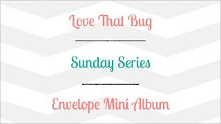Hi everyone, We are on part 5 for this series. You can find all sizes over on my blog at http://lovethatbug.com/envelope-mini-album ...