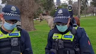 Tak się kończy obecnie wyjście do parku w Australii.
