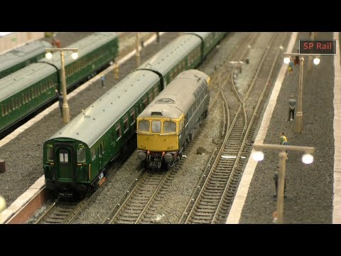 Modelling Railroad Train Track Plans -Mind-Blowing Erith Model Railway Exhibition 2019