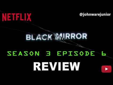 Netflix Black Mirror Season 3 Episode 6 Review | Hated in the Nation (Audio)