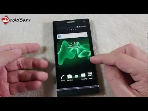 DroidSans Review : Sony Xperia S LT26i (in Thai)