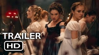 Pride and Prejudice and Zombies Official Trailer #1 (2016) Lily James Action Horror Movie - YouTube