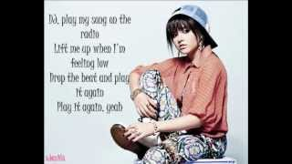 Becky G - Play It Again Lyrics