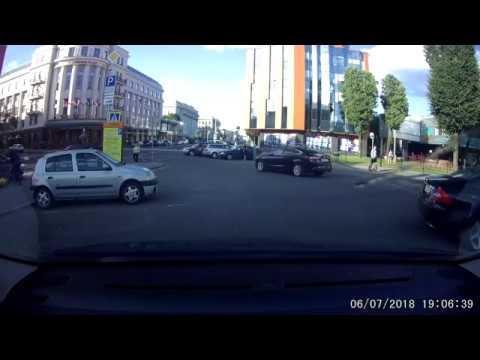 ДТП в Минске с мотоциклистом
