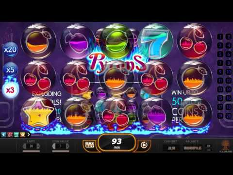 Pyrons™ online slot by Yggdrasil | Slotozilla video preview
