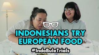 Video #IndoBuleTrials: Indonesians Try European Food MP3, 3GP, MP4, WEBM, AVI, FLV November 2018