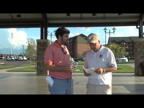 Carson-Newman Men's Golf: Randy Wylie Post 1st Day SMI 9-8-14